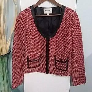Tweed Lined Blazer